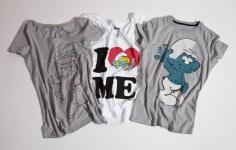 Camisetas-Smurfs